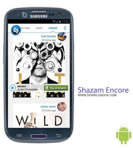 Shazam%20Encore%20v5.9 نرم افزار شناسایی و یافتن موزیک Shazam Encore v5.9.0 مخصوص اندروید