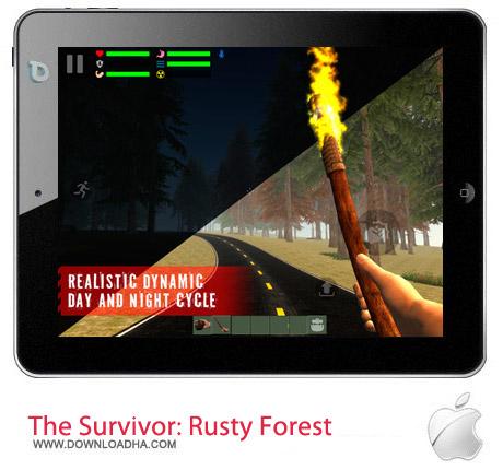 The Survivor Rusty Forest v1.1 بازی اکشن The Survivor: Rusty Forest v1.1.5 مخصوص آیفون ، آیپد و آیپاد