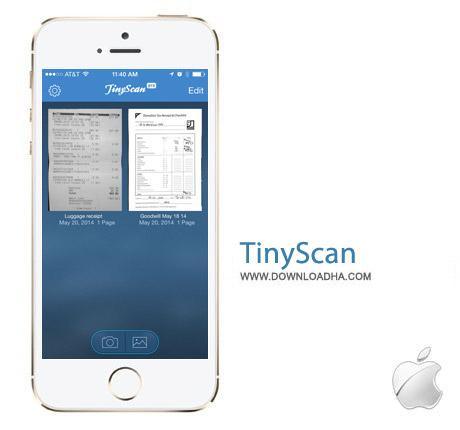 TinyScan Pro 4.0 نرم افزار اسکنر Tiny Scanner Pro v4.0 مخصوص آیفون ، آیپد و آیپاد
