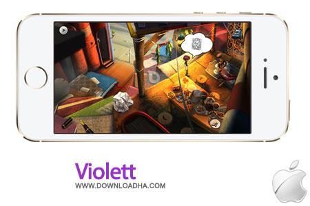 Violett%202.0 بازی فکری Violett v2.0 مخصوص آیفون ، آیپد و آیپاد