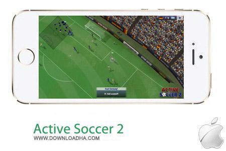 Active Soccer 2 v1.1 بازی فوتبال Active Soccer 2 v1.1.0 مخصوص آیفون و آیپد