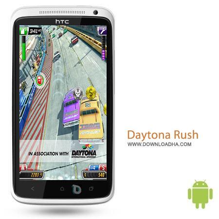 Daytona Rush v1.8 بازی ماشین سواری Daytona Rush v1.8 مخصوص اندروید