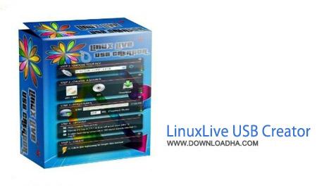 LinuxLive USB Creator 2.9.4 نرم افزار اجرای لینوکس در ویندوز LinuxLive USB Creator v2.9.4