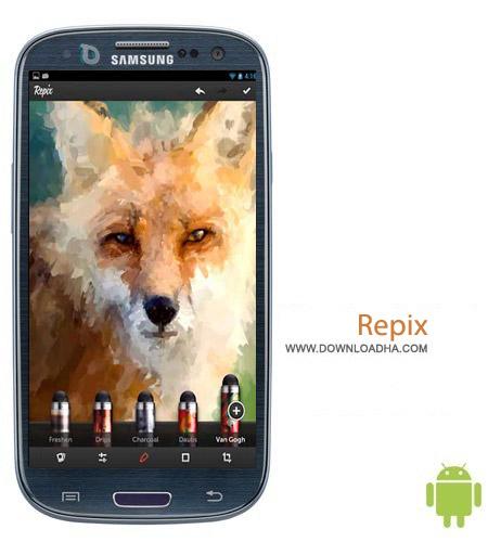 Repix v1.5.9 نرم افزار ویرایش تصاویر Repix v1.5.9 مخصوص اندروید