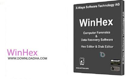 WinHex%2018.5 نرم افزار مدیریت فایل های هگزادسیمال WinHex 18.5