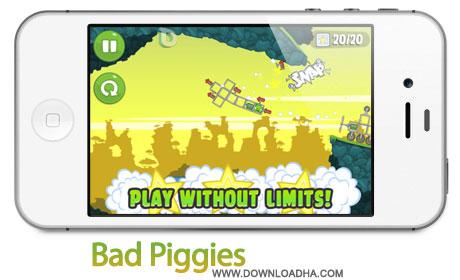 Bad%20Piggies%201.6 بازی جذاب Bad Piggies v1.6 مخصوص آیفون ، آیپد و آیپاد