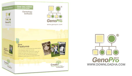 GenoPro%202016 نرم افزار ایجاد شجره نامه GenoPro 2016