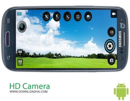 HD Camera Pro v1.9.0 نرم افزار دوربین عکاسی HD Camera Pro v1.9.0 مخصوص اندروید
