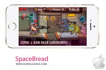 SpaceBread 1.0 بازی ماجراجویی SpaceBeard v1.0.1 مخصوص آیفون ، آیپد و آیپاد