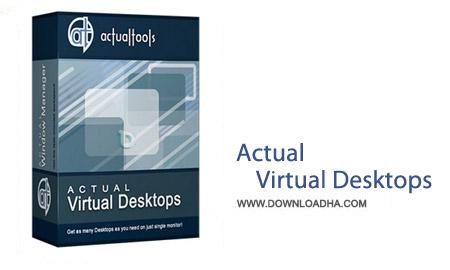 Actual Virtual Desktops 8.5.1 نرم افزار ایجاد دسکتاپ مجازی Actual Virtual Desktops 8.5.1
