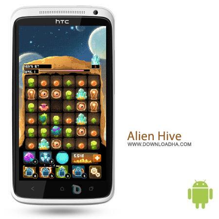 Alien Hive v3.6.0 بازی فکری Alien Hive v3.6.0 مخصوص اندروید