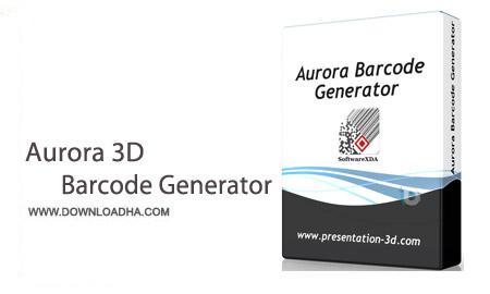 Aurora 3D Barcode Generator 5.0912 نرم افزار ساخت انواع بارکد Aurora 3D Barcode Generator 5.0912
