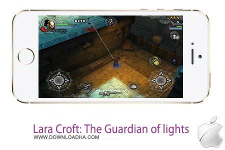 Lara Croft The Guardian of lights 2.0 بازی بی نظیر Lara Croft: Guardian of Light v2.0 مخصوص آیفون ، آیپد و آیپاد