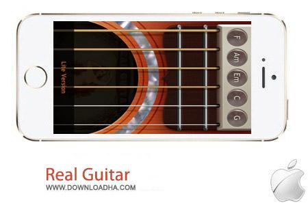Real Guitar 2.4 نرم افزار گیتار واقعی Real Guitar v2.4 مخصوص آیفون ، آیپد و آیپاد