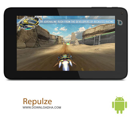 Repulze v1.1.6 بازی مسابقه ای Repulze v1.1.6 مخصوص اندروید