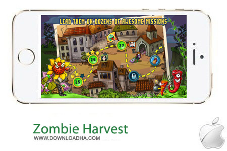 Zombie Harvest 1.0 بازی اکشن زامبی Zombie Harvest v1.0.1 مخصوص آیفون و آیپد