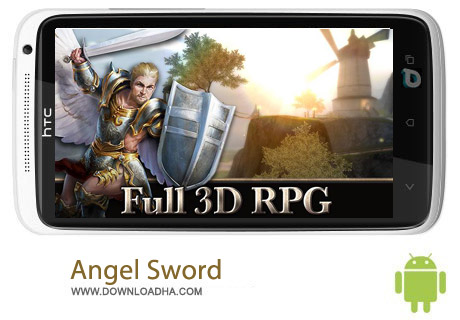Angel Sword v1.0.5 بازی هیجان انگیز Angel Sword v1.0.5 مخصوص اندروید