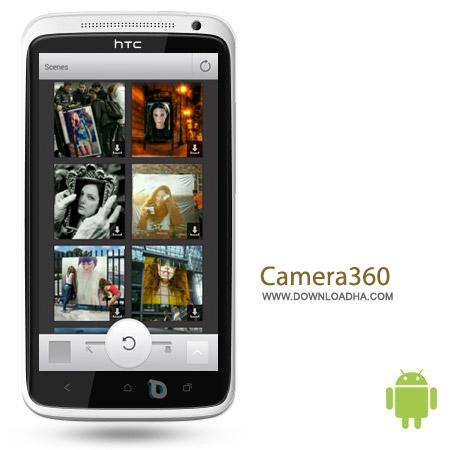 Camera360 v7.0.1 نرم افزار عکس برداری با افکت Camera360 v7.0.1 مخصوص اندروید