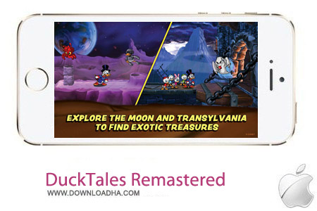 DuckTales Remastered 1.0 بازی اکشن DuckTales: Remastered v1.0 مخصوص آیفون ، آیپد و آیپاد