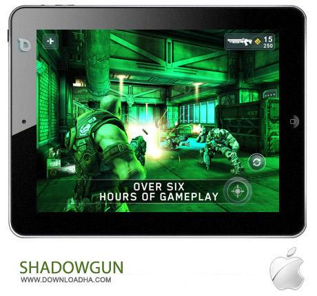SHADOWGUN%20v1.6 بازی اکشن SHADOWGUN v1.6.0 مخصوص آیفون ، آیپد و آیپاد