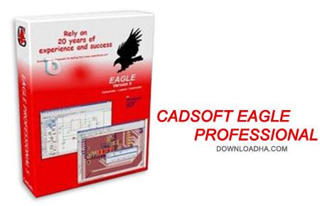 CadSoft%20Eagle%20Pro%207.4.0 نرم افزار طراحی مدارهای الکترونیکی CadSoft Eagle Pro 7.4.0