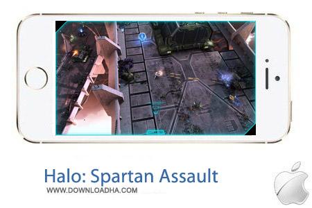 Halo Spartan Assault 1.0 بازی اکشن Halo: Spartan Assault v1.0 مخصوص آیفون ، آیپد و آیپاد