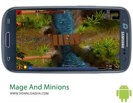 Mage And Minions v1.1.18 بازی شمشیر زنی Mage And Minions v1.1.18 مخصوص اندروید