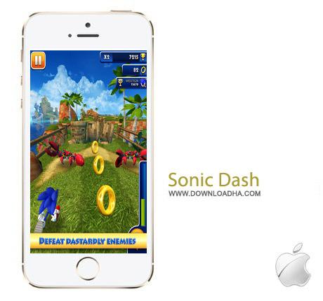Sonic Dash 2.6.4 بازی سونیک Sonic Dash 2.6.4 مخصوص آیفون ، آیپد و آیپاد