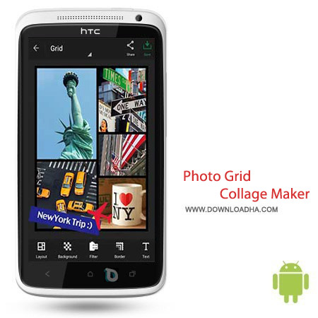 Photo Grid %96 Collage Maker 5.05 نرم افزار کلاژ میکر Photo Grid   Collage Maker v5.05 مخصوص اندروید