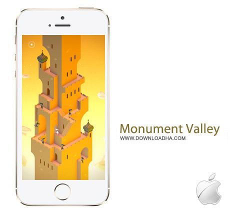 Monument Valley v2.4.0 بازی فکری Monument Valley v2.4.0 مخصوص آیفون ، آیپد و آیپاد