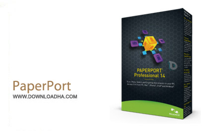PaperPort Professional v14.5.15168.1450 نرم افزار مرتب سازی پوشه ها PaperPort Professional v14.5.15168.1450