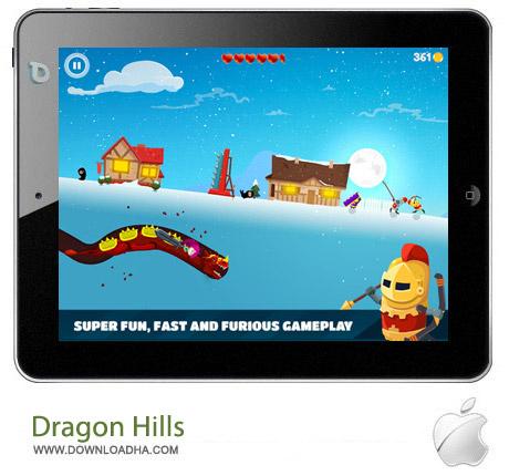 Dragon Hills 1.0 بازی اکشن تپه اژدها Dragon Hills v1.0 مخصوص آیفون ، آیپد و آیپاد