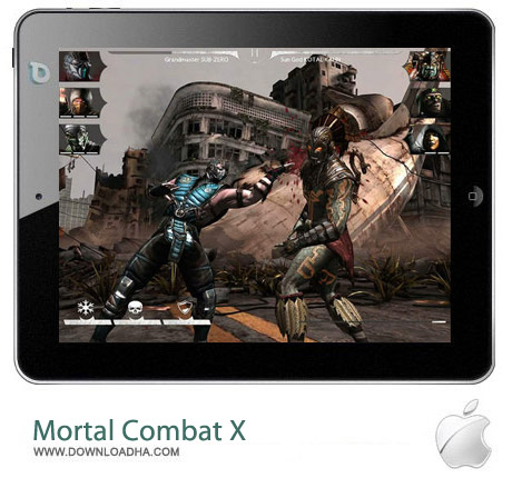 Mortal Combat X 1.0 بازی مورتال کامبت Mortal Combat X v1.0 مخصوص آیفون ، آیپد و آیپاد