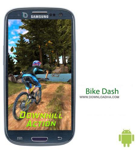 Bike Dash v3 بازی دوچرخه سواری در کوهستان Bike Dash v3 مخصوص اندروید