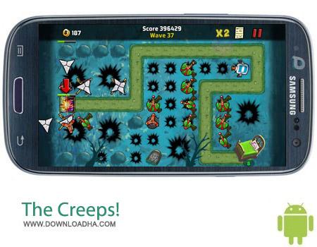 The Creeps%21 v1.15.16 بازی استراتژیک بیگانگان The Creeps! v1.15.16 مخصوص اندروید
