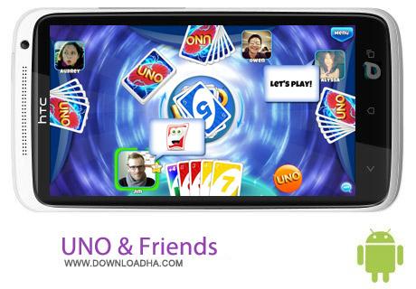 UNO %26 Friends v2.5.0k بازی فکری یونو UNO & Friends v2.5.0k مخصوص اندروید