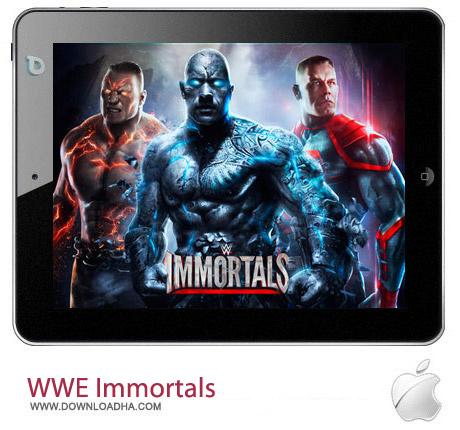 WWE Immortals 1.7.2 بازی کشتی کج WWE Immortals 1.7.2 مخصوص آیفون ، آیپد و آیپاد