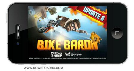 Bike%20Baron%203.8.1 بازی موتور سواری Bike Baron 3.8 مخصوص آیفون ، آیپد و آیپاد