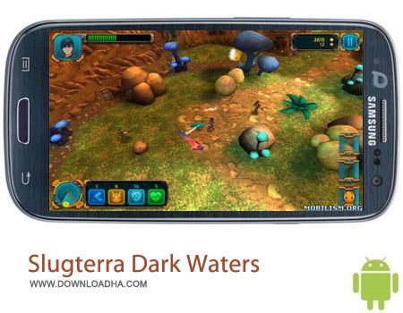 Slugterra Dark Waters v1.0.5 بازی اکشن آب تیره Slugterra: Dark Waters v1.0.5 مخصوص اندروید