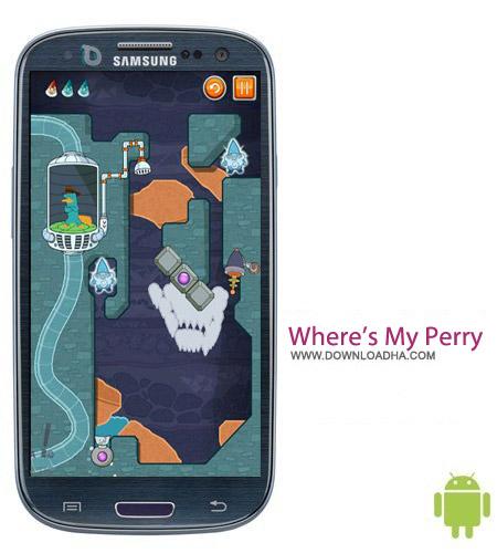 Where%92s My Perry v1.7.1 بازی هیجان انگیز Where's My Perry? v1.7.1 مخصوص اندروید