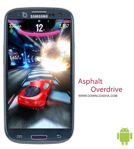 Asphalt Overdrive v1.2.0k بازی آسفالت اوردرایو Asphalt Overdrive v1.2.0k مخصوص اندروید