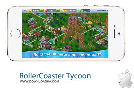RollerCoaster%20Tycoon%ae%203%20v1.0.3 بازی مدیریت شهربازی RollerCoaster Tycoon 3 v1.0.3 مخصوص آیفون ، آیپد و آیپاد