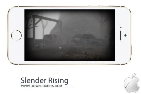 Slender Rising v1.7 بازی ترسناک Slender Rising v1.7 مخصوص آیفون ، آیپد و آیپاد