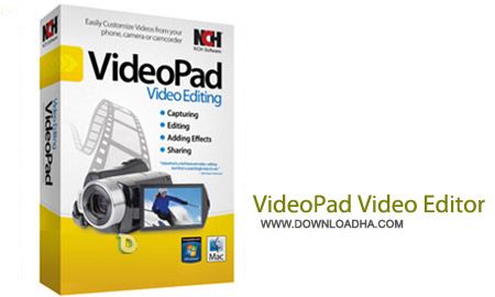 VideoPad%20Video%20Editor%20Professional%204.14 نرم افزار ویرایش فایل های ویدئویی VideoPad Video Editor Professional 4.14
