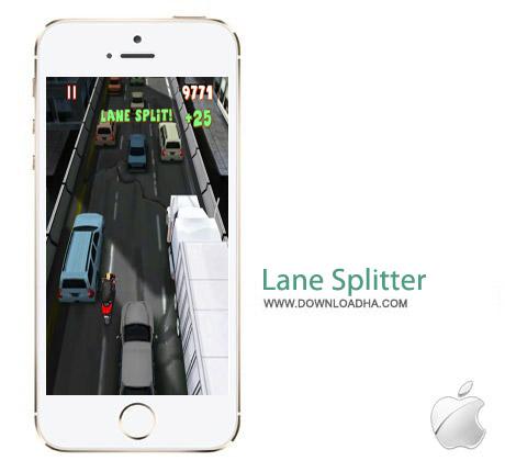 Lane Splitter 5.0 بازی موتور سواری Lane Splitter v5.0.0 مخصوص آیفون ، آیپد و آیپاد