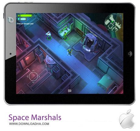 Space Marshals 1.1 بازی اکشن مارشال فضایی Space Marshals v1.1.5 مخصوص آیفون ، آیپد و آیپاد