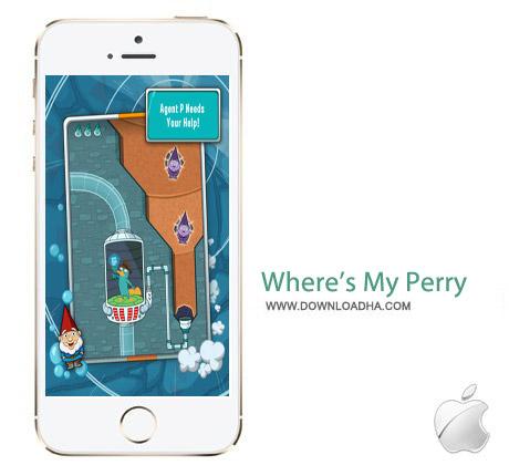 Where%92s My Perry 1.7 بازی هیجان انگیز Where's My Perry? v1.7.0 مخصوص آیفون ، آیپد و آیپاد