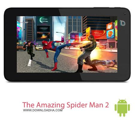 The Amazing Spider Man 2 v1.2.2f بازی مرد عنکبوتی The Amazing Spider Man 2 v1.2.2f مخصوص اندروید