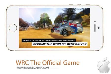 WRC The Official Game 1.2 بازی اتومبیل رانی WRC The Official Game v1.2 مخصوص آیفون ، آیپد و آیپاد