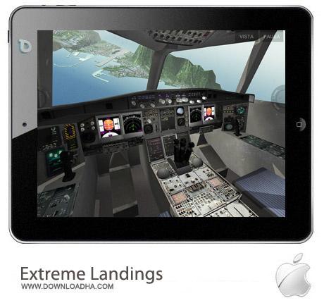 Extreme Landings Pro 1.31 بازی شبیه سازی هواپیما Extreme Landings Pro 1.31 مخصوص آیفون ، آیپد و آیپاد